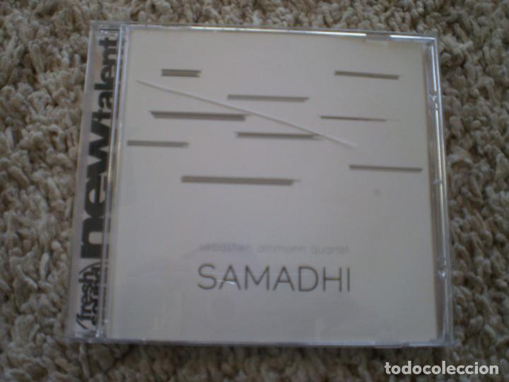 CD. SEBASTIAN AMMANN QUARTET. SAMADHI. MUY BUENA CONSERVACION (Música - CD's Jazz, Blues, Soul y Gospel)