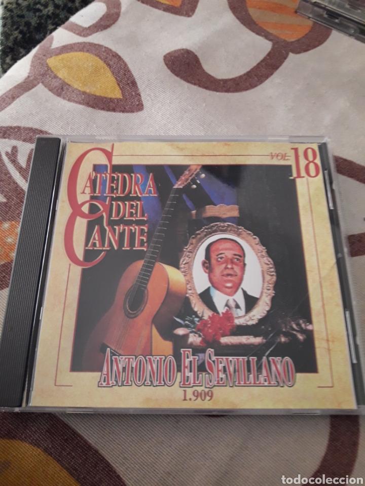 ANTONIO EL SEVILLANO. 1909. CATEDRA DEL CANTE VOL. 18. EDICION DE 1996. RARO. (Música - CD's Flamenco, Canción española y Cuplé)