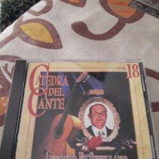 CDs de Música: ANTONIO EL SEVILLANO. 1909. CATEDRA DEL CANTE VOL. 18. EDICION DE 1996. RARO.. Lote 195359087