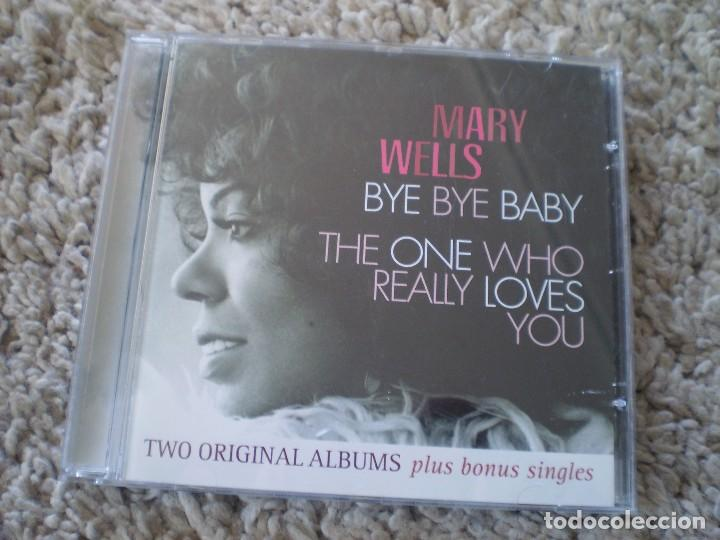 CD. MARY WELLS. BYE BYE + THE ONE WHO...MUY BUENA CONSERVACION (Música - CD's Jazz, Blues, Soul y Gospel)