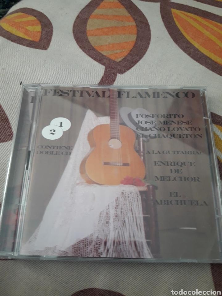 DOBLE CD FESTIVAL FLAMENCO. VARIOS ARTISTAS. EDICION DE 2004 (Música - CD's Flamenco, Canción española y Cuplé)