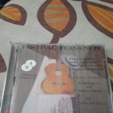 CDs de Música: DOBLE CD FESTIVAL FLAMENCO. VARIOS ARTISTAS. EDICION DE 2004. Lote 195360852