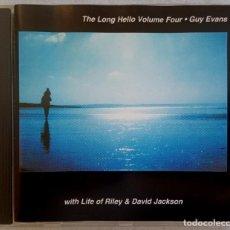 CDs de Música: GUY EVANS W/ LIFE OF RILEY & DAVID JACKSON - THE LONG HELLO VOL4 - UK CD 1993 - VOICEPRINT. Lote 195361248