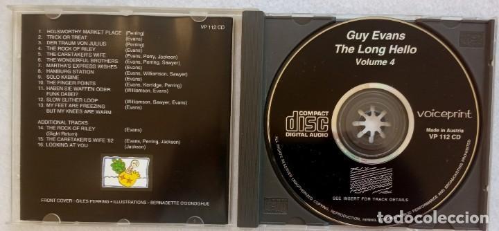 CDs de Música: GUY EVANS w/ LIFE OF RILEY & DAVID JACKSON - the long hello Vol4 - UK CD 1993 - VOICEPRINT - Foto 2 - 195361248