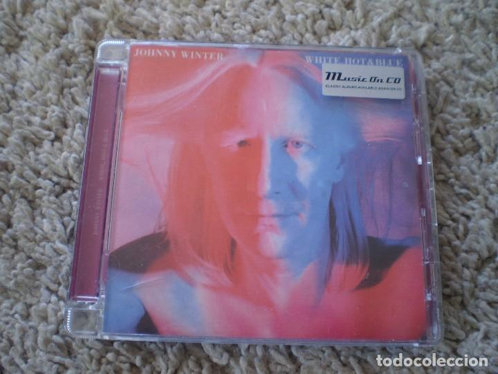 CD. JOHNNY WINTER. WHITE HOT AND BLUE. MUY BUENA CONSERVACION (Música - CD's Rock)