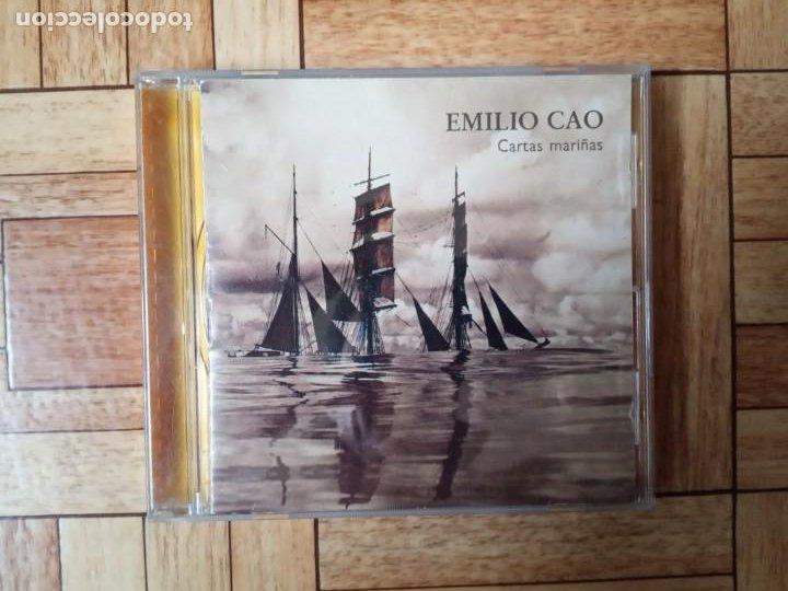 EMILIO CAO - CARTAS MARIÑAS - CD 1992 (Música - CD's World Music)