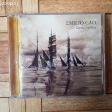 CDs de Música: EMILIO CAO - CARTAS MARIÑAS - CD 1992. Lote 195361466