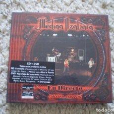 CDs de Música: CD+DVD. DIGIPACK. MEDINA AZAHARA. EN DIRECTO EDICION ESPECIAL. LIBRETO. MUY BUENA CONSERVACION. Lote 195362098