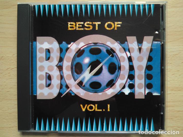 BEST OF BOY VOL. 1 TIME MODEM NEW SCENE HYPNOPEDIA CYBEX FACTOR ETC.../ CD RECOPILATORIO TEMAZOS (Música - CD's Techno)