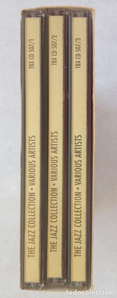 CDs de Música: VARIOS - THE JAZZ COLLECTION - UK 3xCD BOX-SET 1995 KAZ - Foto 3 - 195363801