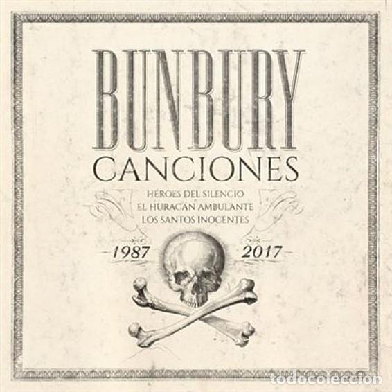 BUNBURY CANCIONES PACK 4 CD + LIBRO PRECINTADO (HEROES DEL SILENCIO) (Música - CD's Rock)