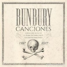 CDs de Música: BUNBURY CANCIONES PACK 4 CD + LIBRO PRECINTADO (HEROES DEL SILENCIO). Lote 195368332