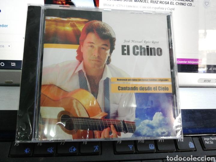 JOSÉ MANUEL RUIZ ROSA EL CHINO CD CANTANDO DESDE EL CIELO PRECINTADO (Música - CD's Flamenco, Canción española y Cuplé)