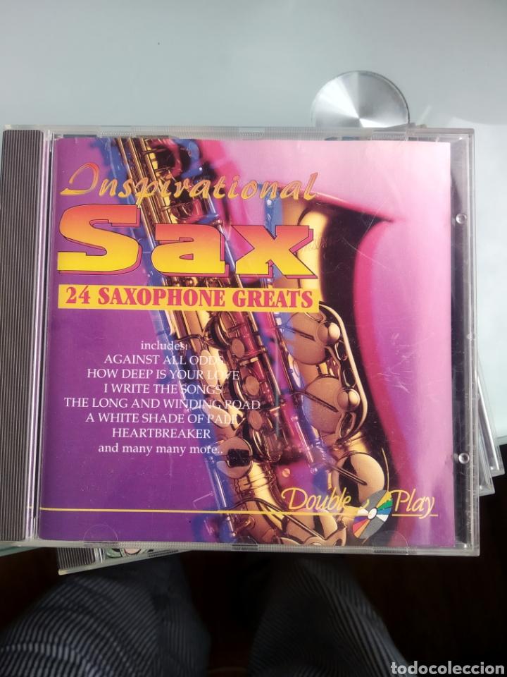 UNKNOWN ARTIST – INSPIRATIONAL SAX - 24 SAXOPHONE GREATS (Música - CD's Jazz, Blues, Soul y Gospel)