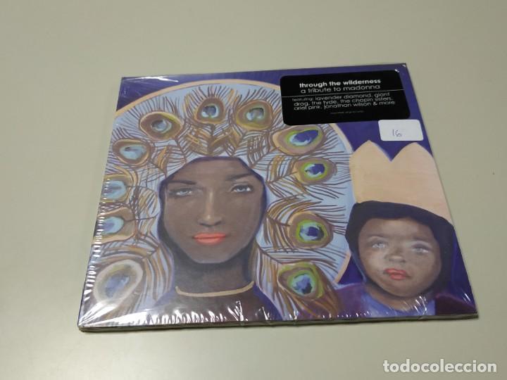 0220- THROUGH THE WILDERNESS A TRIBUTE MADONNA CD NUEVO PRECINTADO LIQUIDACIÓN 2 (Música - CD's Otros Estilos)