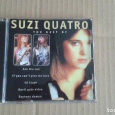 CDs de Música: SUZI QUATRO - THE BEST OF SUZI QUATRO CD 1996. Lote 195398752