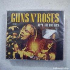 CDs de Música: GUNS N' ROSES - APPETITE FOR LIES - 4 CD 2004 PRECINTADO. Lote 195403960