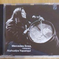 CDs de Música: MERCEDES SOSA (INTERPRETA A ATAHUALPA YUPANQUI) CD 1989. Lote 195404973