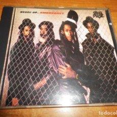 CDs de Música: STEEL PULSE STATE OF..EMERGENCY CD ALBUM DEL AÑO 1988 ALEMANIA CONTIENE 11 TEMAS. Lote 195410437