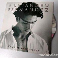 CDs de Música: ALEJANDRO FERNANDEZ / ME ESTOY ENAMORANDO (CD SINGLE CARTON PROMO 1998). Lote 195410725