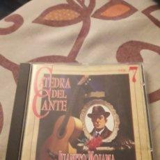 CDs de Música: JUANITO MOJAMA. 189?-1957. CATEDRA DEL CANTE FLAMENCO VOL. 7. EDICION DE 1996.. Lote 195413331