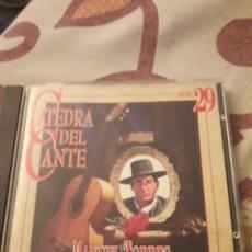 CDs de Música: MANUEL TORRES. 1878-1933. CATEDRA DEL CANTE FLAMENCO VOL. 29. EDICION DE 1996. RARO. Lote 195414111