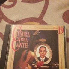CDs de Música: TOMAS PAVON. 1893-1952. CATEDRA DEL CANTE FLAMENCO VOL. 19. EDICION DE 1996. MUY RARO.. Lote 195416566