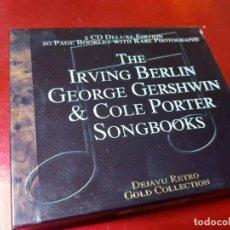 CDs de Música: DOBLE CD-GEORGE GERSHWIN & COLE PORTER-DEJAVÚ RETRO-NUEVO-VER FOTOS. Lote 195419040