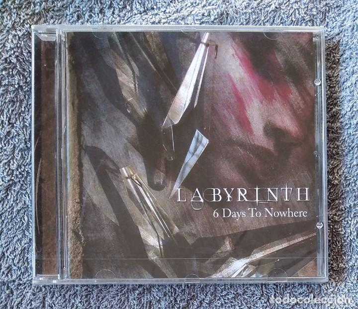 LABYRINTH - 6 DAYS TO NOWHERE CD NUEVO Y PRECINTADO - METAL PROGRESIVO POWER METAL HEAVY METAL (Música - CD's Heavy Metal)