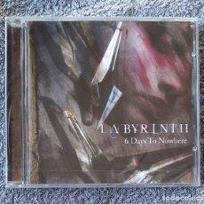 CDs de Música: LABYRINTH - 6 DAYS TO NOWHERE CD NUEVO Y PRECINTADO - METAL PROGRESIVO POWER METAL HEAVY METAL. Lote 195421111