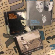 CDs de Música: LOTE CD ALBUM FRANCISCO PANCHO CESPEDES VIDA LOCA DONDE ESTA LA VIDA AY CORAZON 3 DISCOS LP SINGLE . Lote 195421618