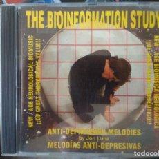 CDs de Música: THE BIOINFORMATION STUDY - MELODÍAS ANTI-DEPRESIVAS - JON LUNA. Lote 195421846