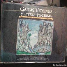 CDs de Música: CD GAITAS VIOLINES Y OTRAS HIERBAS LP SINGLE CASE CLANNAD ALAN STIVELL CAPERCAILLE CELTAS CORTOS . Lote 195422033
