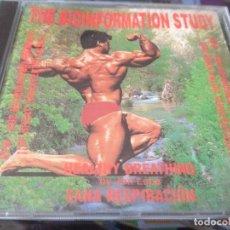 CDs de Música: THE BIOINFORMATION STUDY - RESPIRACIÓN SANA. Lote 195423176