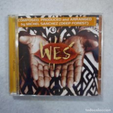 CDs de Música: WES - WELENGA - COMPOSED, PRODUCED AND ARRANGED BY MICHEL SANCHEZ - CD 1996 . Lote 195425408