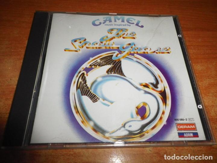 CAMEL MUSIC INSPIRED BY THE SNOW GOOSE CD ALBUM DEL AÑO 1988 WEST GERMANY 16 TEMAS PRIMERA EDICION (Música - CD's Rock)