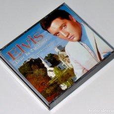 CDs de Música: ELVIS PRESLEY: PEACE IN THE VALLEY, THE COMPLETE GOSPEL RECORDINGS (1956-1977) - CAJA DE 3 CDS. Lote 195426160