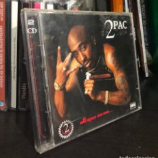 CDs de Música: CD ALBUM 2 DISCOS 2PAC PAC TUPAC SHAKUR ALL EYEZ ON ME CHANGES LP SINGLE MC CASE HIP HOP EMINEM . Lote 195428393