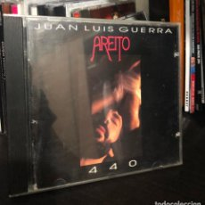 CDs de Música: CD ALBUM JUAN LUIS GUERRA AREITO Y 440 SALSA MERENGUE LATINO LP SINGLE MC CASETE CASE DVD VHS FOTO . Lote 195429592