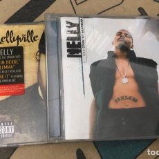 CDs de Música: LOTE 2 CD COUNTRY GRAMMAR NELLYVILLE HOT IN HERRE DILEMMA LP SINGLE CASE VHS DVD NELLY EMINEM 2PAC . Lote 195429810