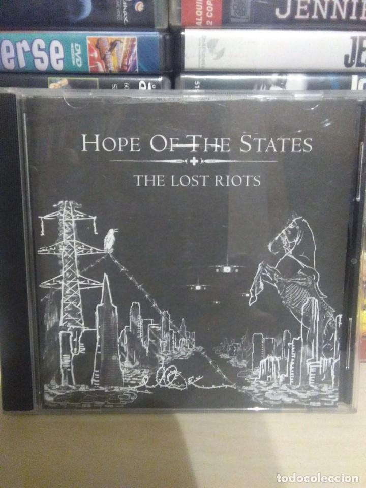 HOPE OF THE STATES - THE LOST RIOTS (Música - CD's Rock)