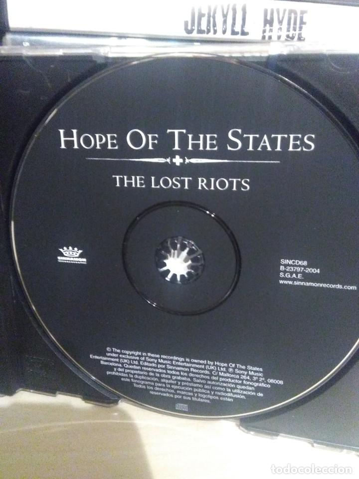 CDs de Música: Hope of The states - The Lost riots - Foto 3 - 195429851