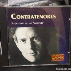 CDs de Música: CD ALBUM LOS CONTRATENORES EL REPERTORIO DE LOS CASTRATI OPERA GRANDES VOCES RENE JACOBS EMI LP. Lote 195430536