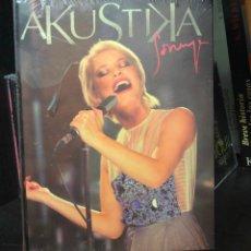 CDs de Música: CD ALBUM DVD AKUSTIKA ACUSTICA SORAYA ARNELAS EUROVISION SINGLE LA NOCHE ES PARA MI SIN MIEDO LIBRO. Lote 195431506