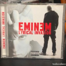 CDs de Música: CD ALBUM EMINEM LYRICAL INVASION MUY RARO LP SINGLE GREATEST HITS 8 MILLAS MILE CASE THE SLIM SHADY . Lote 195434513