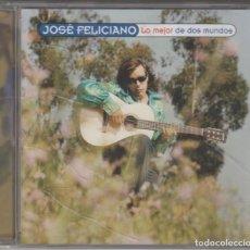 CDs de Música: JOSÉ FELICIANO CD LO MEJOR DE DOS MUNDOS 1997 SPAIN. Lote 195435686