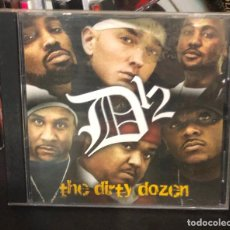 CDs de Música: CD ALBUM D12 D 12 MIXTAPE LP SINGLE CASE DVD VHS 8 MILE MC 2PAC PAC 2 EMINEM THE DIRTY DOZEN. Lote 195436945