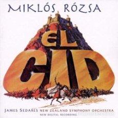 CDs de Música: EL CID / MIKLÓS RÓZSA CD BSO - KOCH. Lote 195440223