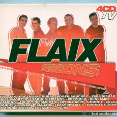 CDs de Música: FLAIX FM SESSIONS ( 4CDS). Lote 195440307