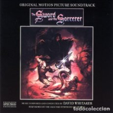 CDs de Música: THE SWORD AND THE SORCERER / DAVID WHITAKER CD BSO. Lote 195440696